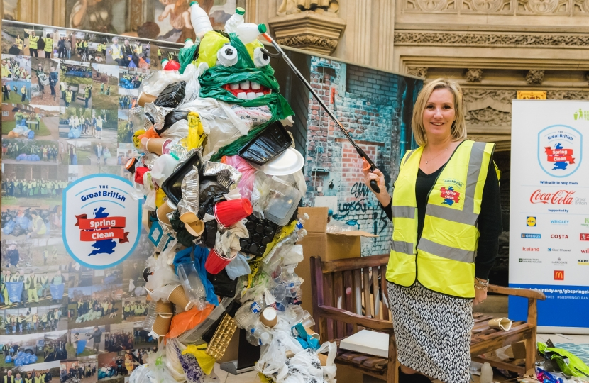 Caroline Dinenage - Great British Spring Clean