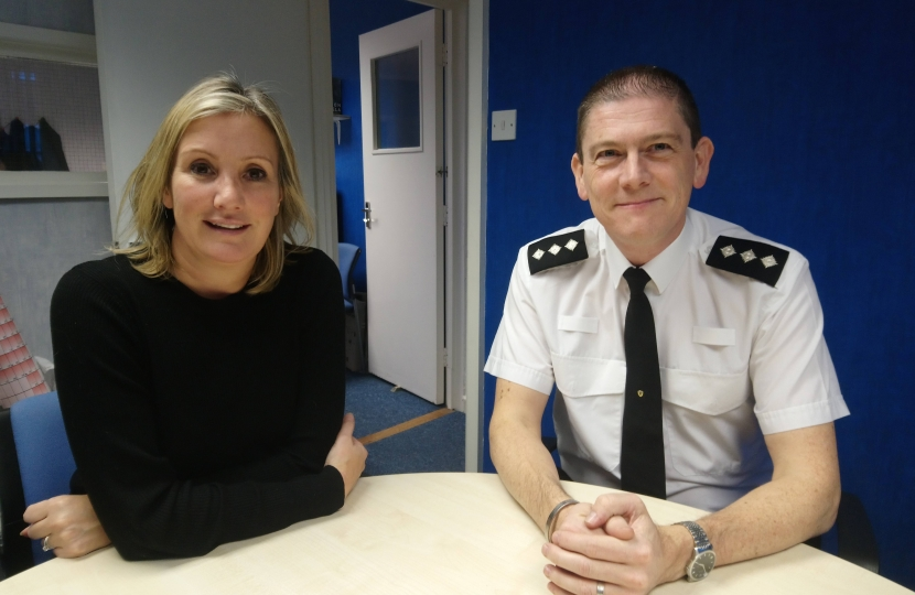 Caroline Dinenage - Chief Inspector Mark Lewis